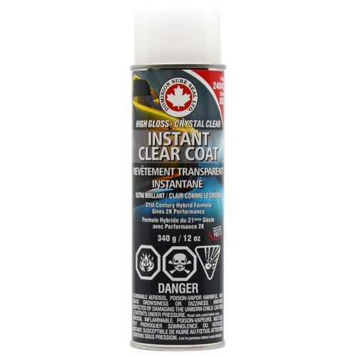Dominion Sure Seal High Gloss Instant Clear Coat, 12-oz Product image