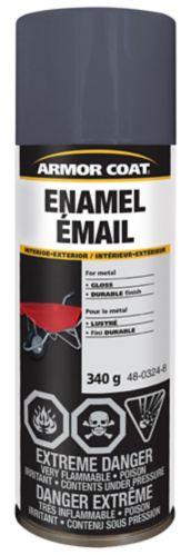Armor Coat Enamel Deep Grey Spray Paint, 340 g Product image