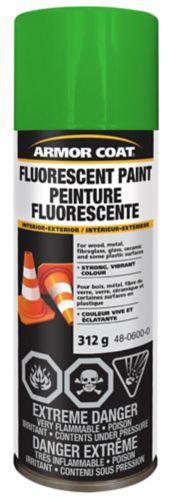 Peinture fluorescente Armor Coat, vert, 312 g Image de l'article