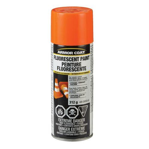 Peinture fluorescente Armor Coat, orange vif, 312 g Image de l'article