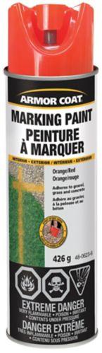 Armor Coat Job Liner Paint Red/Orange, 426 g Product image
