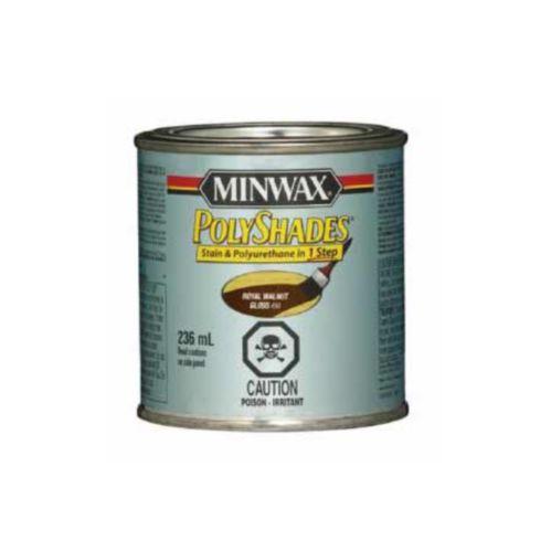 Teinture et polyuréthane Minwax Polyshades, 236 ml Image de l'article