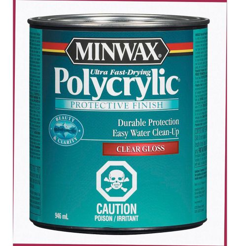 Minwax® Polycrylic Water-Based Protective Finish, 946-mL