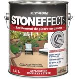 Revêtement de pierre en quartz Stoneffects, sable d'Arizona, 3,47 L | Stoneffectsnull