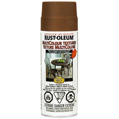 Rust-Oleum Multi-Coloured Textured Spray Paint, Autumn Brown, 340-g Product image