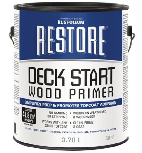 Apprêt pour bois Rust-Oleum Restore Deck Start Image de l'article