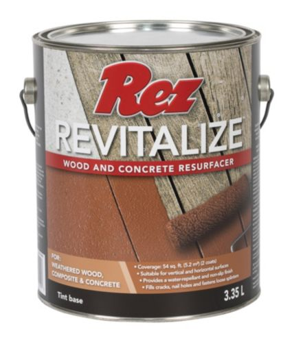 Rez Revitalize Wood & Concrete Resurfacer