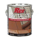 Rez Revitalize Advanced Wood & Concrete Resurfacer, Medium Tint Base, 3.35-L | REZnull
