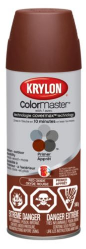Apprêt Krylon Colormaster, brun rougeâtre Image de l'article