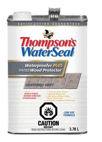 Imperméabilisant pour bois Thompson's WaterSeal Plus, gris