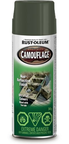 Camouflage Spray Paint, 340-g