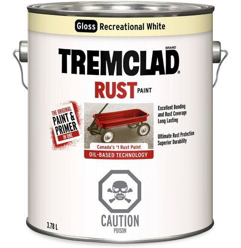 Rust-Oleum Tremclad Recreational White Paint Product image