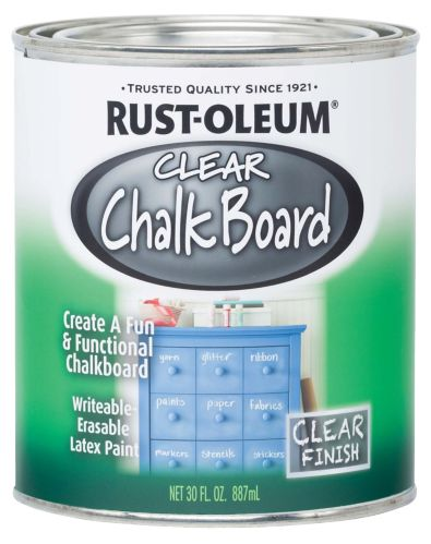 Rust-Oleum Chalkboard Paint, Clear, 887-mL Product image