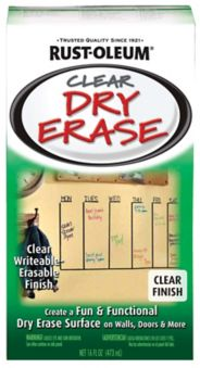 Rust-Oleum Dry Erase Paint, Clear, 887-mL | Canadian Tire