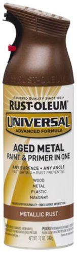 Rust-Oleum Universal Aged Metal Paint & Primer, 11-oz Product image