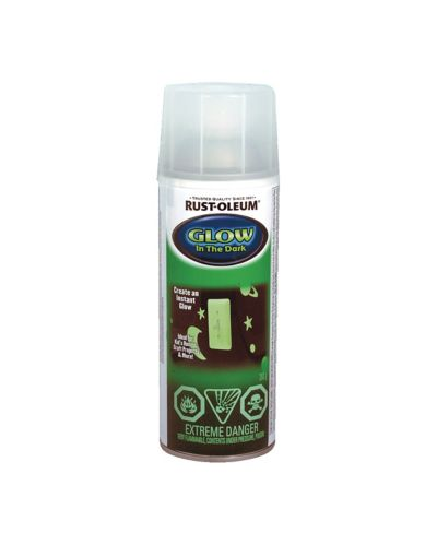 Rust-Oleum Glow-in-the-Dark Aerosol Paint, 283 g Product image