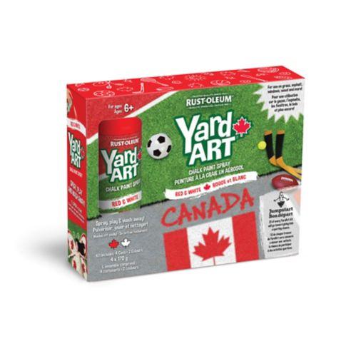 Yard Art Canada Aerosol Chalk Spray, 4-pk Product image