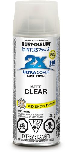 Painter's Touch 2X Flat Spray Paint, 340 g Product image