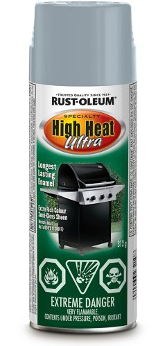 Rust-Oleum Specialty High Heat Ultra Spray Paint, Silver, 312-g Product image