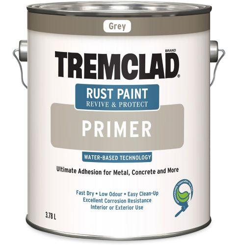 Tremclad Grey Water Based Primer, 3.78-L Product image