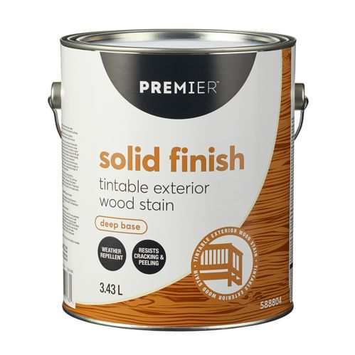 Premier Exterior Solid Stain, 3.7-L Product image