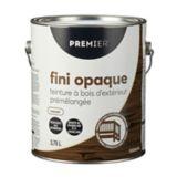 Premier Exterior Solid Stain, Premixed Walnut, Gallon | Premier Paintnull
