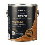 Premier Active Solid Exterior Stain, Clear Base, 1-Gallon | Premier Paint Premier Activenull