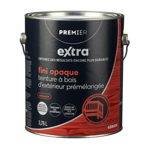 Teinture d'extérieur opaque Premier Active, prémélangée, séquoia, 1 gallon Image de l'article