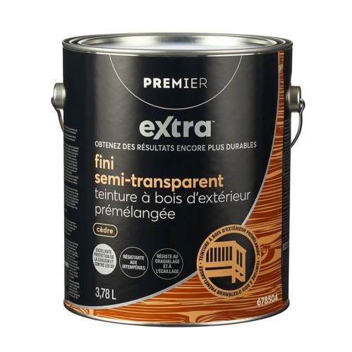 Premier Extra Semi-Transparent Exterior Stain, Cedar, 1-Gallon Product image