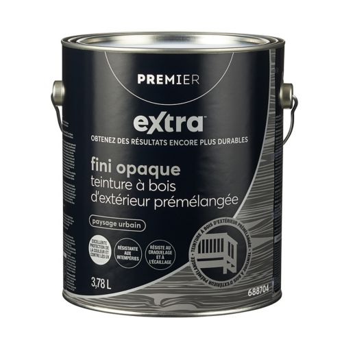 Premier Active Solid Exterior Stain,Premixed Cityscape, Gallon Product image