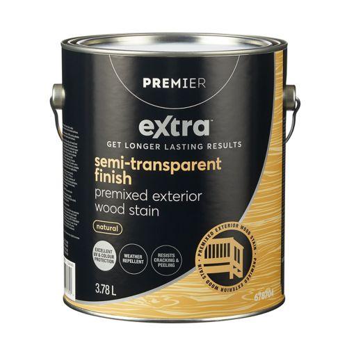 Premier Active Semi-Transparent Exterior Stain, Premixed Natural, Gallon Product image