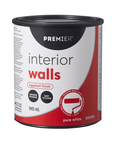 Premier Interior Walls Paint, Eggshell Product image