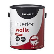 Premier Interior Walls Paint, Flat