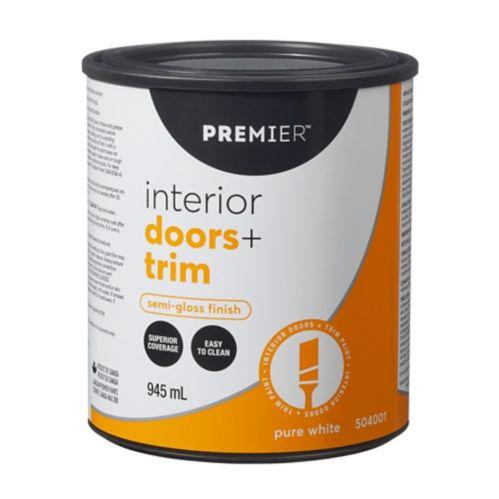 Peinture d'intérieur pour portes et moulures Premier, semi-lustré Image de l'article