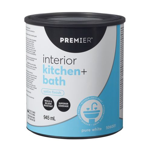 Premier Kitchen & Bath  Paint, Satin Product image