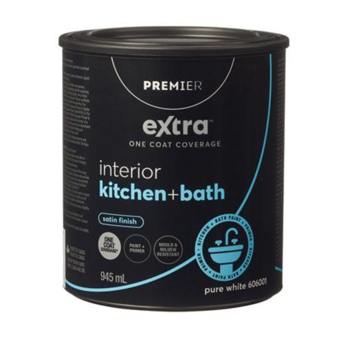 Peinture pour cuisine et salle de bain Premier Extra, satin Image de l'article