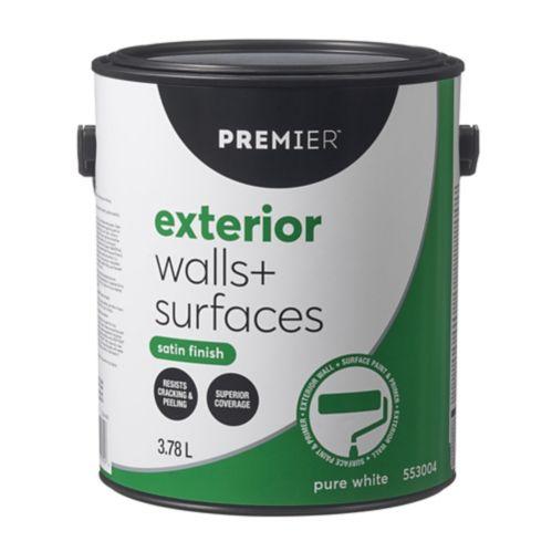 Premier Exterior Walls & Surfaces Paint, Satin Product image