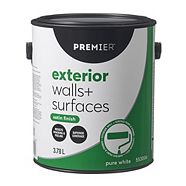 Premier Exterior Walls & Surfaces Paint, Satin
