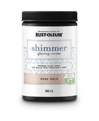 Rust-Oleum Shimmer Glazing Cream, 946-mL Product image