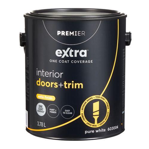 Peinture d'intérieur pour portes et moulures Premier Extra, satin Image de l'article
