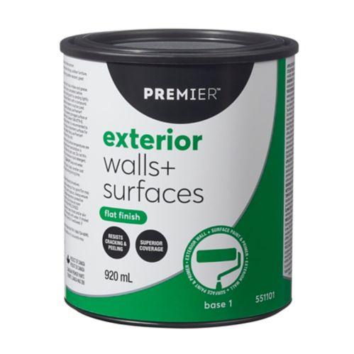 Premier Exterior Walls & Surfaces Paint, Flat Product image