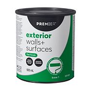 Premier Exterior Walls & Surfaces Paint, Flat