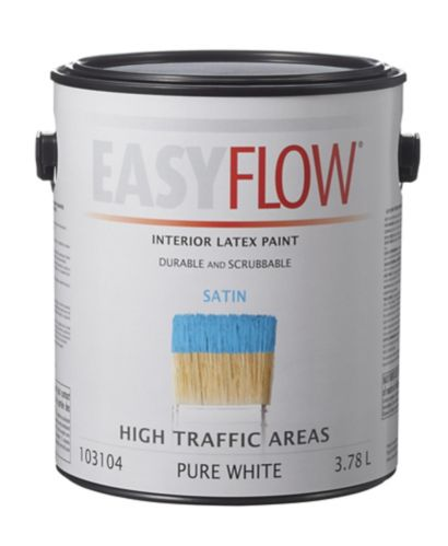 EasyFlow Interior Latex Paint, Satin Product image