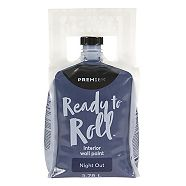 Premier Ready To Roll Interior Eggshell Paint, Night Out, 3.78-L