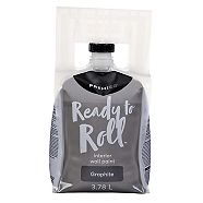Premier Ready To Roll Interior Eggshell Paint, Graphite, 3.78-L