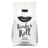 Premier Ready To Roll Interior Eggshell Paint, Platinum, 3.78-L
