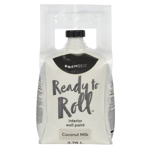 Premier Ready To Roll Interior Eggshell Paint, Coconut Milk, 3.78-L Product image