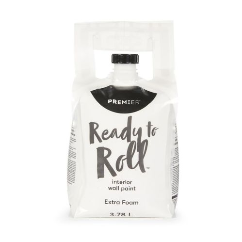 Premier Ready To Roll Interior Eggshell Paint, Extra Foam, 3.78-L