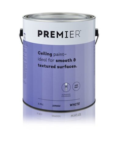 Premier Premixed Interior Ceiling Paint, Pure White