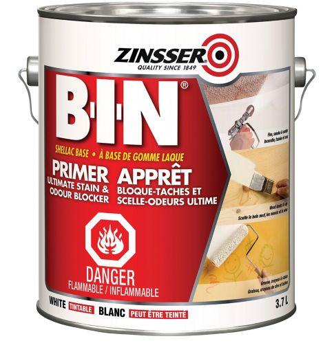 Zinsser BIN Shellac Base Primer-Sealer, 3.7-L Product image